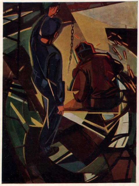 """1949 г. """"Сварщики"""" - Армандо Пиццинато"""